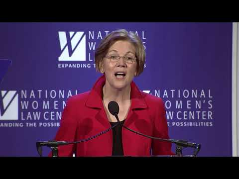 2017 NWLC Gala - Elizabeth Warren