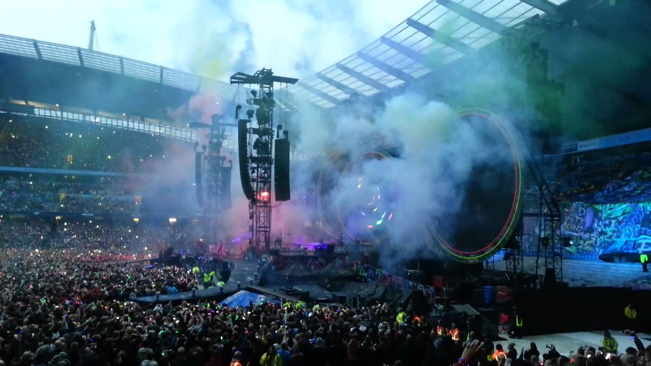 Coldplay Live @ Etihad Stadium Manchester 9/6/12