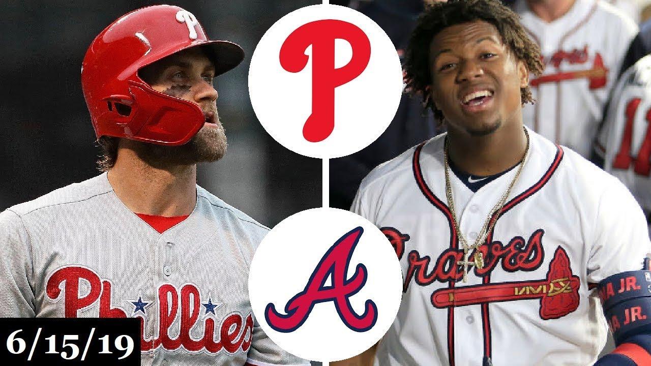 Philadelphia Phillies Vs Atlanta Braves Full Game