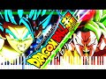 Dragon Ball Super Broly - Broly vs Gogeta | Piano Tutorial видео
