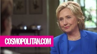 Campus Assault - The Lenny Interview with Hillary Clinton | Cosmopolitan
