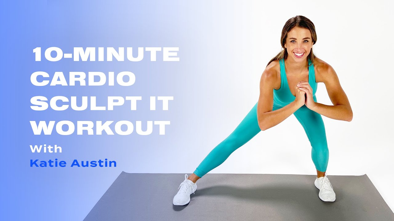 Download 10-Minute Cardio Sculpt IT Workout With Katie Austin