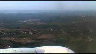 Landing at a table top {new mangalore international airport} (air india express)