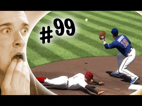 Can Billy Hamilton Steal 100 Bases In A Row? MLB The Show 17 Challenge