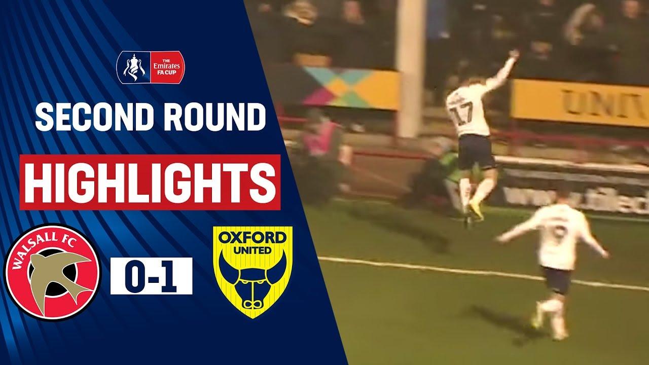 Уолсолл  0-1  Оксфорд Юнайтед видео
