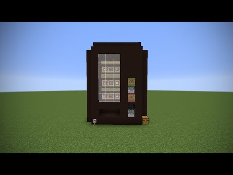 Real Life Vending Machine in Minecraft - Vanilla Redstone Machine