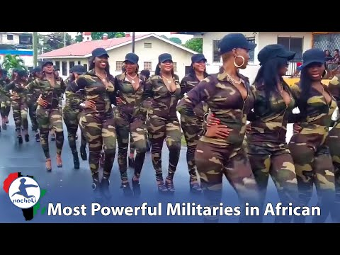 Top 10 Most Powerful African Militaries in 2018