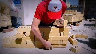 Пилястра, кирпичная кладка своими руками(В данном видео уроке от канала Nivok111, покажем как правильно сделать кирпичную кладку с пилястрами., 2015-06-27T10:23:52.000Z)
