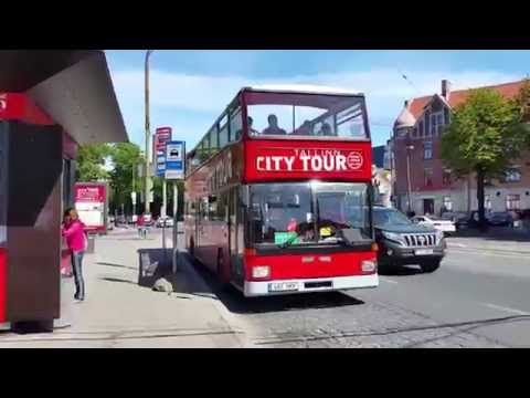 Tallinn sightseeing - City Tour bus June 2015