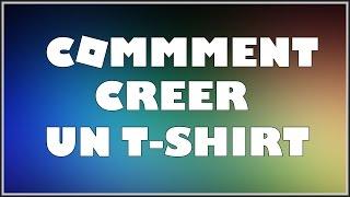 COMMENT CREER UN T-SHIRT | Roblox FR