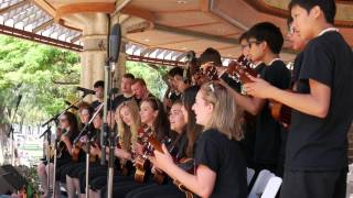 Ukulele Festival Hawaii 2015 – Langley Ukulele Ensemble (Canada)