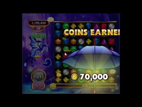 Bejeweled Blitz - Coin Catcher