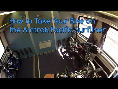 How to Take Your Bike on the Amtrak Pacific Surfliner