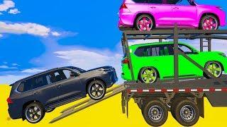 Bajka dla Dzieci z Piosenkami i Kolorowe Motory dla Małych Ep 29