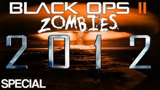 black ops 2 zombies 2012 end of the world zombies survival on town round 20 hellhounds ect