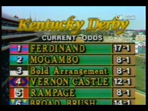 1986 Kentucky Derby - Ferdinand