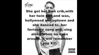 G-Eazy Remember You Ft. Blackbear Lyrics.mp3