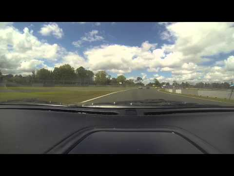 Puke Track time Lance first time around track with his HSV (NZ Cannonball 2014)