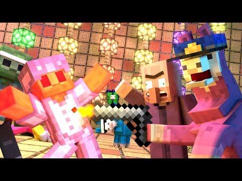 Annoying Villagers 24 - Minecraft Animation
