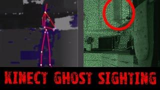 Ghost Sighting Using Kinect Camera - Real Paranormal Activity Part 43.2