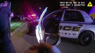 Springfield Police Department officer shooting body cam