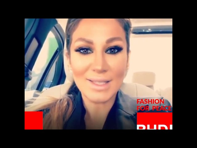 Watch Shirin Malekzadeh's message on Fashion for Peace