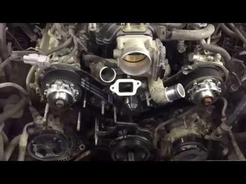 Toyota Tundra Water Pump Failure - YouTube