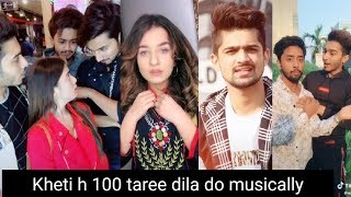 Kheti h 100 taree dila doo Musically Videos || New Musical.ly Video Compilation