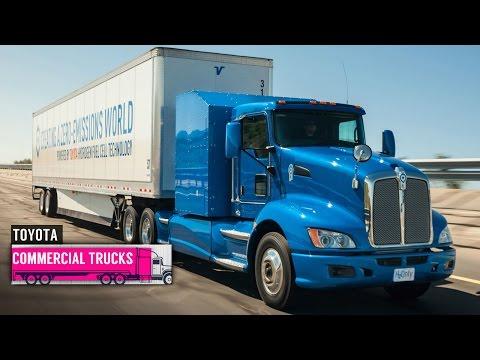 Toyota Hydrogen-Powered Semi Truck
