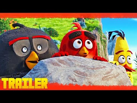 Tráiler de Angry Birds, la película. Cine infantil animado