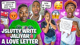 JSLUTTY WROTE JALIYAH A LOVE LETTER & MIKE WANTS A DNA TEST!💔