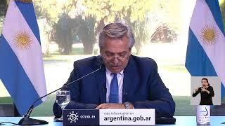 VIVO. Alberto anuncia la próxima etapa de la cuarentena