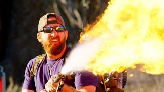 Dude Perfect Plays with Fire on The Dude Perfect Show
