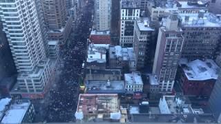 Марш миллионов в Нью Йорке