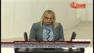 CHP SAMSUN MİLLETVEKİLİ NESLİHAN HANCIOĞLU MECLİS KONUŞMASI-14.11.2018-SAĞLIKTA ŞİDDET KANUN TEKLİFİ