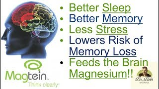 Magtein: Miracle Magnesium for the Brain