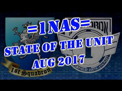 1st Naval Aerospace Squadron State of the Unit for Aug 2947