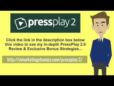 [PressPlay 2.0 Review] Honest Review & Bonus Strategies
