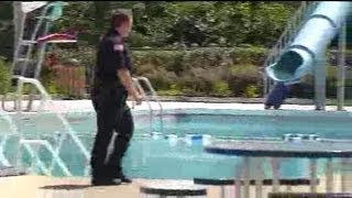 Girl nearly drowns in Brookfield
