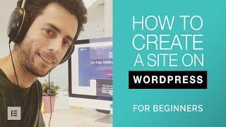 So Erstellen Sie eine WordPress-Website für Anfänger