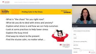 Finding Calm amid the Chaos [Advancing Learning Webinar]