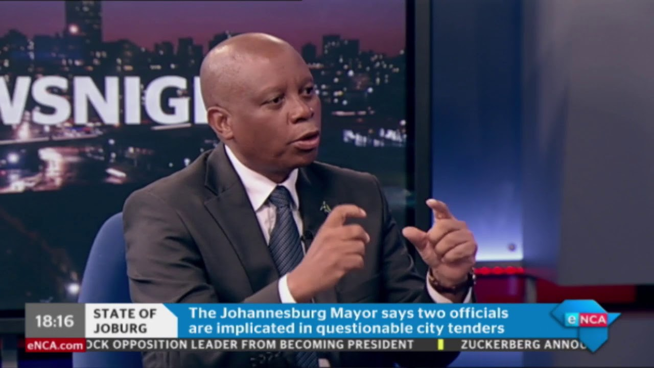 Mayor of Johannesburg wants to clear squatters from buildings