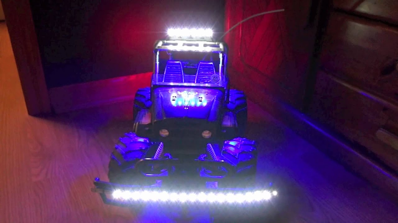How Install Led Lights Rc Cars
