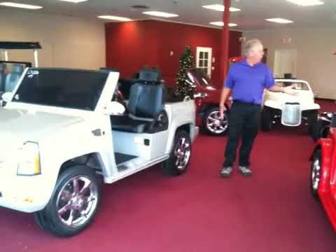 Golf Cart Tax Credit And The Ultimate Showroom