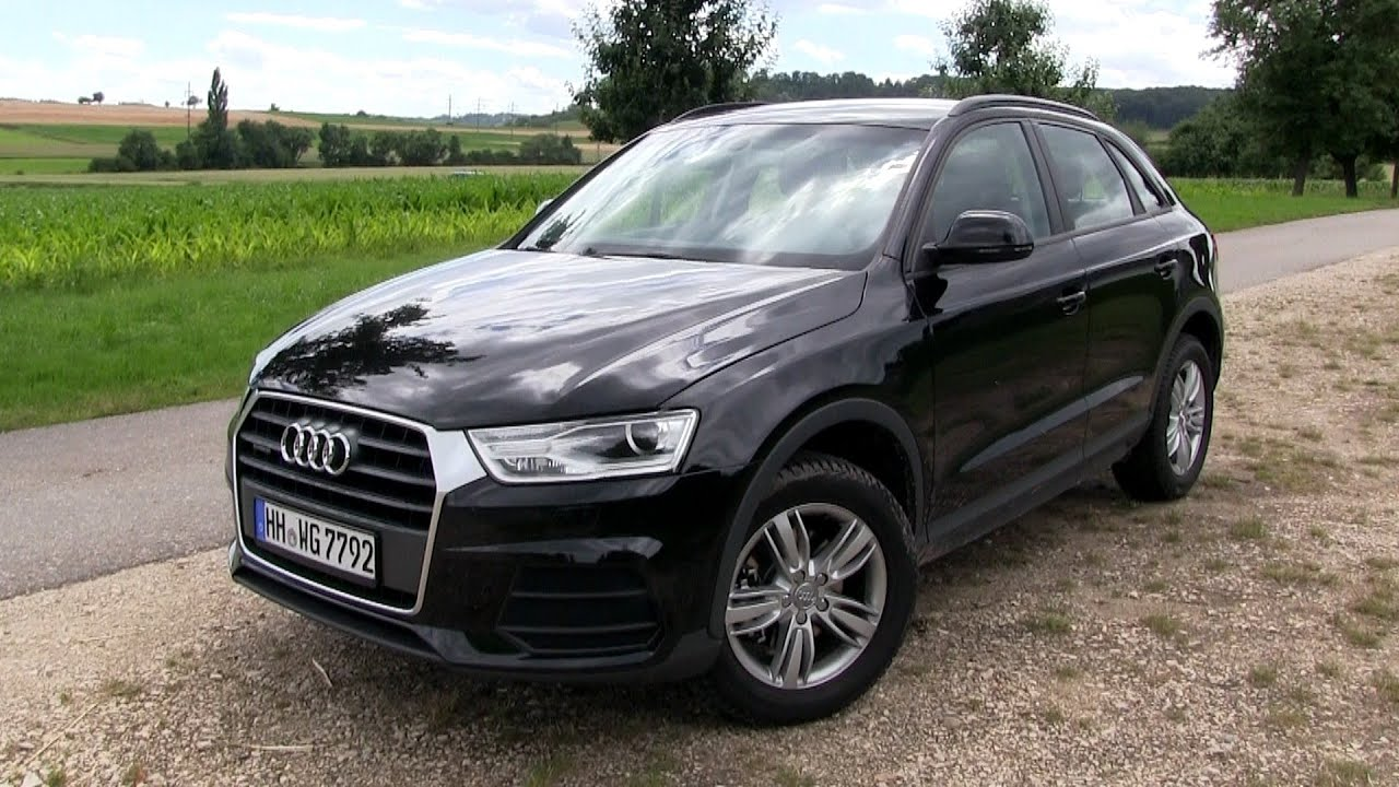 2016 audi q3 2 0 tdi quattro 150 hp test drive youtube. Black Bedroom Furniture Sets. Home Design Ideas