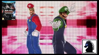 Wii U Tekken Tag Tournament 2 - Mario & Luigi