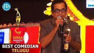 SIIMA 2014 Best Comedian Telugu | Brahmanandam | Baadshah
