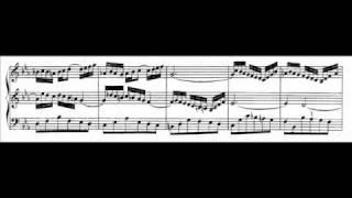 J.S. Bach - BWV 526 (2) - Sonata II - Largo Es-dur / E-flat major