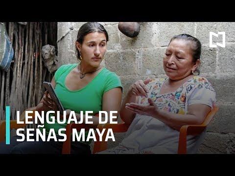 El lenguaje de señas mayas - Las Noticias