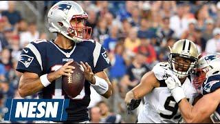 Brady-less Patriots Defeat Saints 34-22 In First Preseason Game